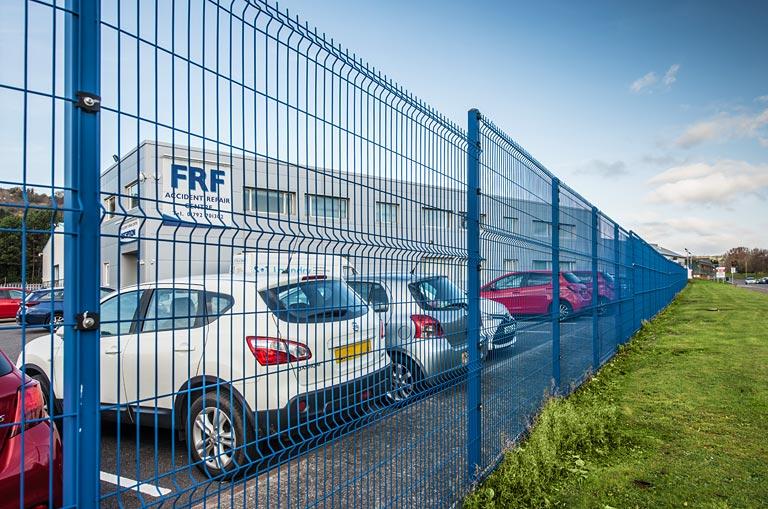 V Mesh Security Fencing System Home Ark Fencing Decking