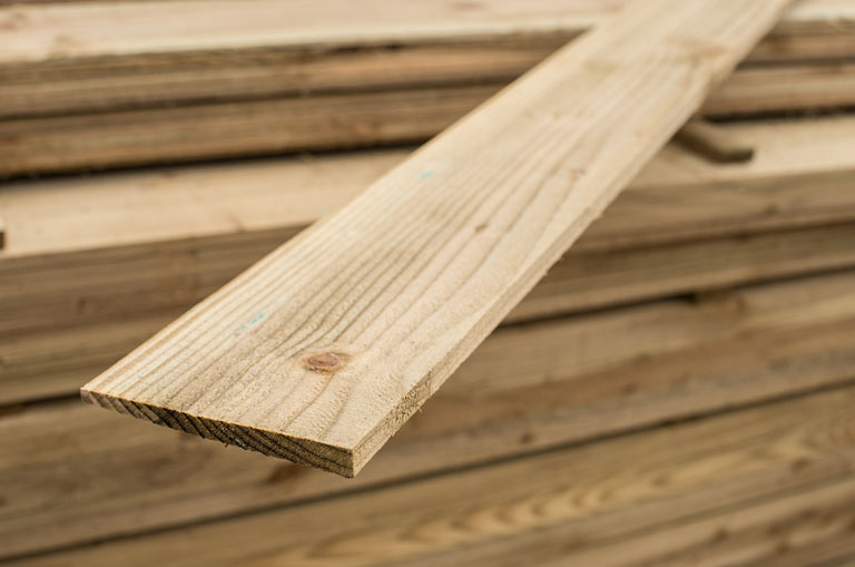 125mm X 22mm Feather Edged Boards Home Ark Fencing