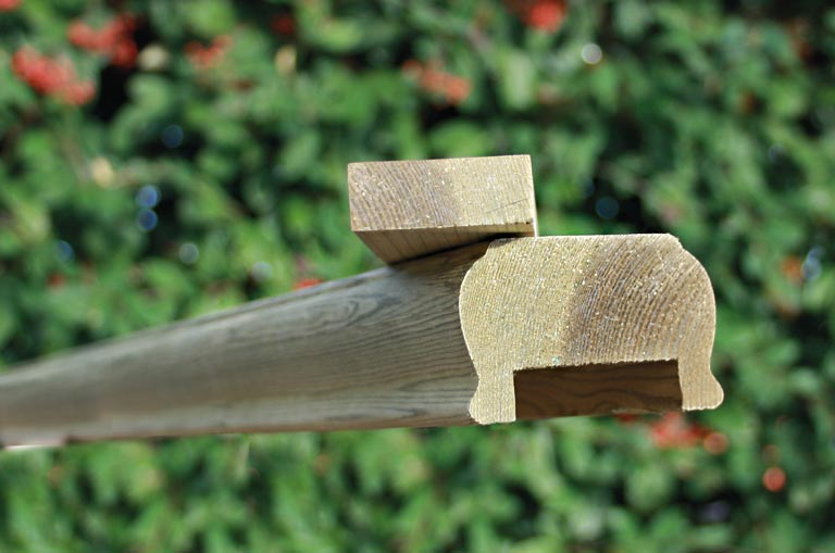 Hand Rail 80mm x 35m - Home Ark Fencing, Decking and ...
